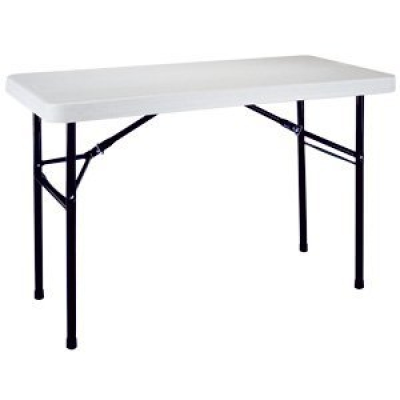 Happy days vending rentals tables chairs 2 39 x 4 for Folding table 6 x 4